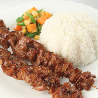 ₱145 Barbecue Rice Meal