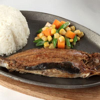 ₱145 Daing na Bangus Rice Meal