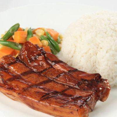 Liempo Rice
